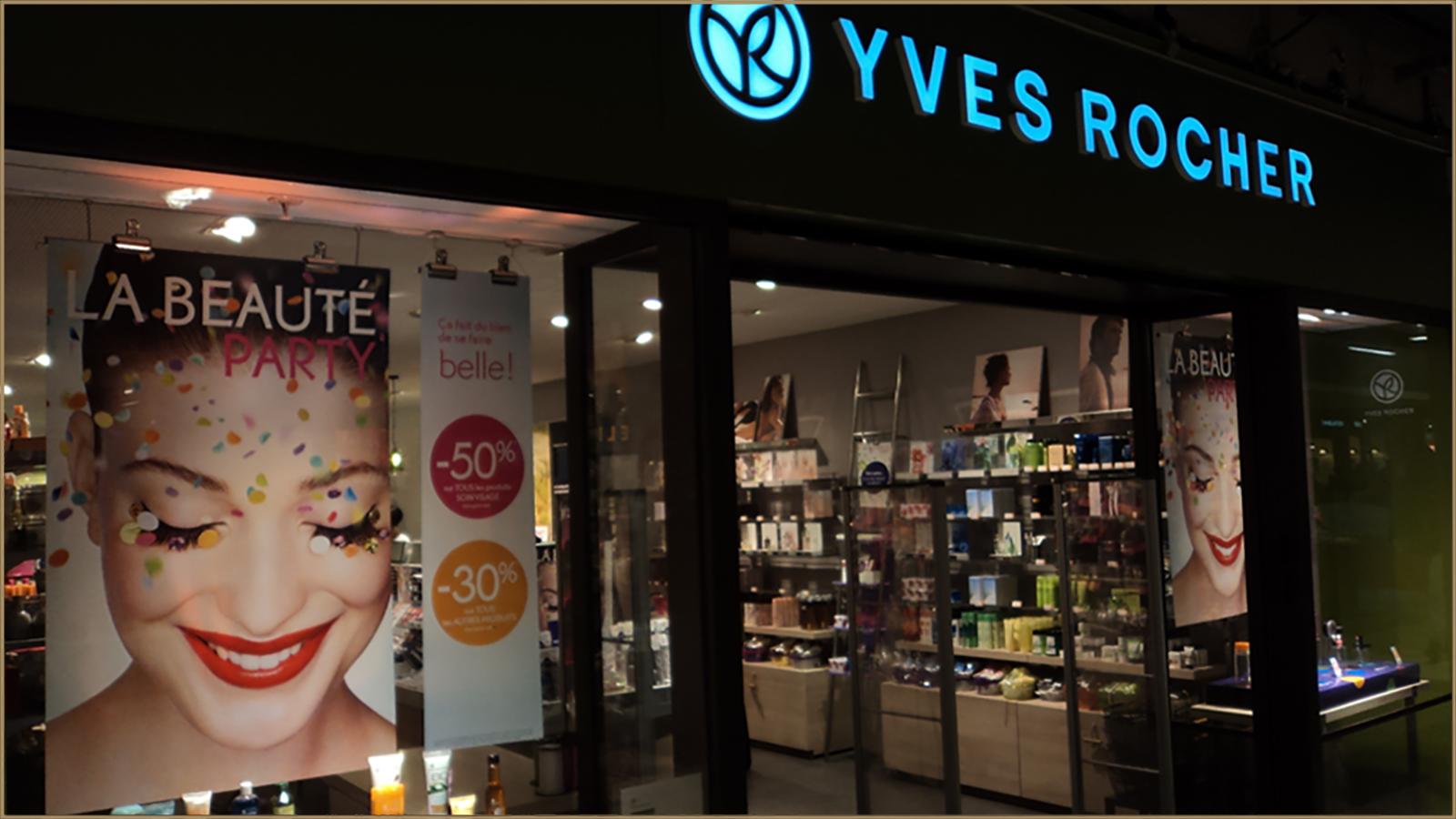 Iyves Rocher Storefront