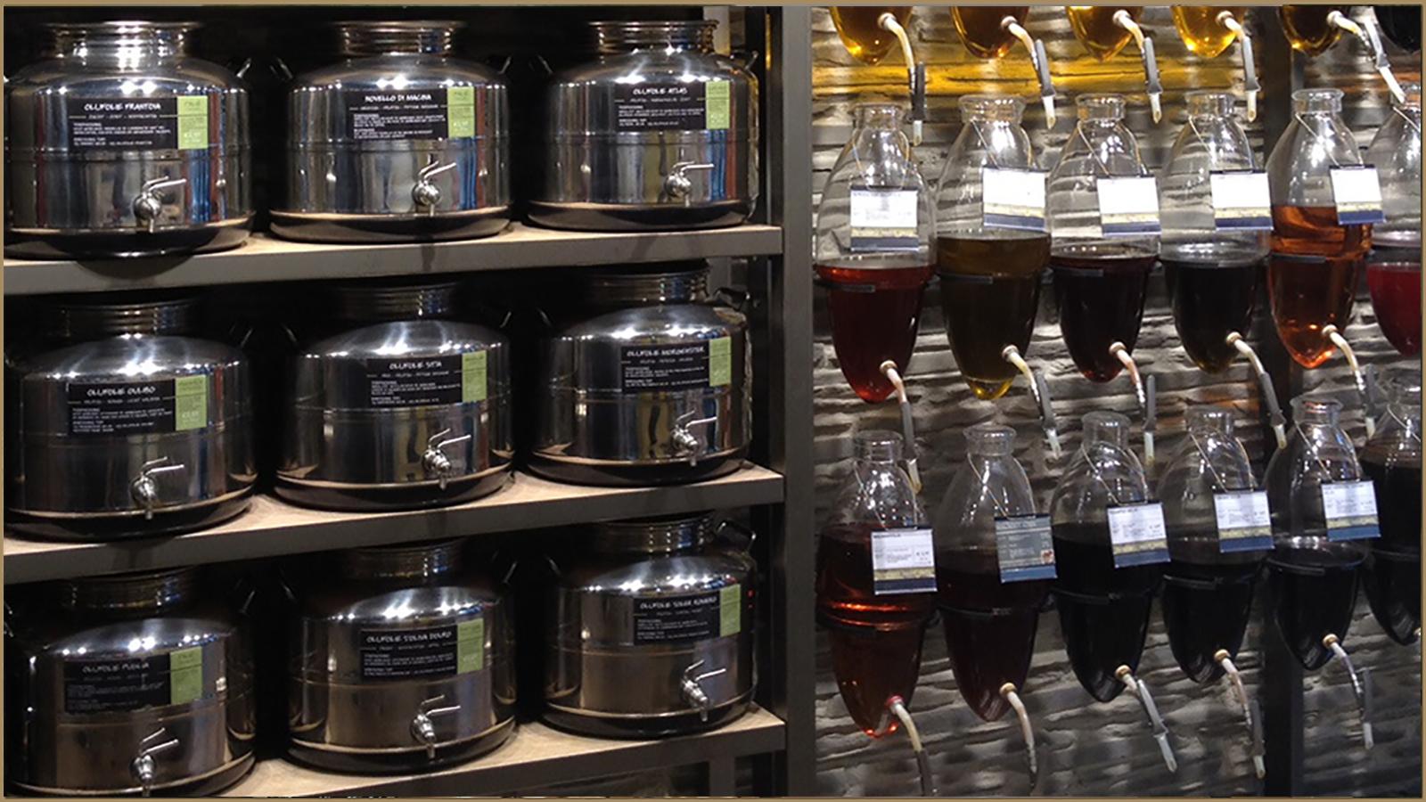 Oil & Vinegar Store Interior